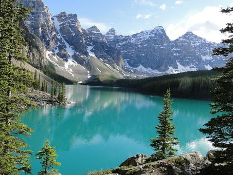 itsluk3: Reflection at Moraine Lake by...